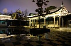 Pagoda par nuit Image libre de droits