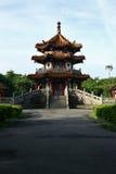 pagoda parkowy Taipei Obrazy Royalty Free