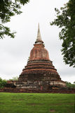 Pagoda in the past Stock Photo