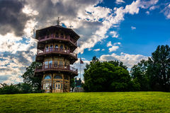 The pagoda at Patterson Park in Baltimore, Maryland. Royalty Free Stock Photography
