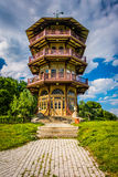 The pagoda at Patterson Park in Baltimore, Maryland. Stock Photos
