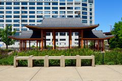Pagoda Pavilion Royalty Free Stock Photo