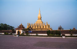 Pagoda Pha ese Luang Laos PDR Imagenes de archivo
