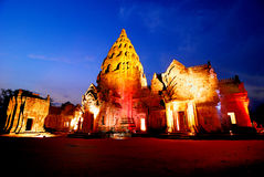 PAGODA IN PHANOM RUNG Royalty Free Stock Images