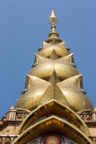 Pagoda of Phathat phakaw Temple. Petchaboon Thailand Stock Photo