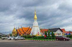 Pagoda (Phra That Choeng Chum) 5 Stock Photo