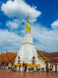 Pagoda (Phra That Choeng Chum) 2 Stock Photo