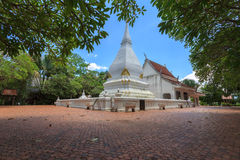 Pagoda at Phra That Si Song Rak temple, Loei, Thailand. Pagoda at That Si Song temple, Thailand Stock Photos