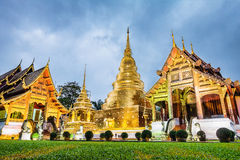 Pagoda at Phra Singh temple. Stock Photography