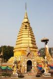 The pagoda of Phrae Stock Photo