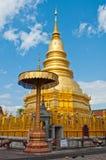 Pagoda Phrathat Hariphunchai, провинция Lamphun Стоковые Изображения