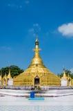 Myawaddy, Myanmar : Pagoda prayer temple. Stock Photography
