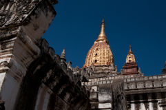 Pagoda przy Bagan w Myanmar Fotografia Royalty Free