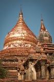 Pagoda przy Bagan w Myanmar Fotografia Stock
