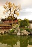 Pagoda przy jawnymi ogródami Yuyuan ogród w Szanghaj obraz royalty free