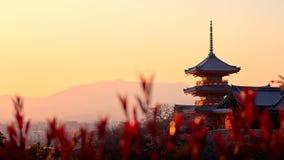 Pagoda przy Kiyomizu-dera zdjęcie royalty free
