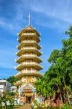 Pagoda przy Mahapanya Vidayalai Obraz Royalty Free