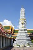 Pagoda przy opierać Buddha świątynię (Wat Pho) Obraz Royalty Free