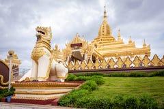 Pagoda, Pyin Oo Lwin, Myanmar royalty free stock images