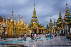 Pagoda Rangoon di Shwedagon Fotografia Stock Libera da Diritti