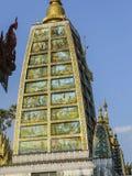 Pagoda in Rangoon, Myanmar di Shwedagon Immagine Stock Libera da Diritti