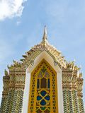 Pagoda at Ratchabophit temple , Thailand Stock Photography