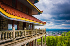 The Pagoda in Reading, Pennsylvania. Stock Photo