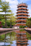 Pagoda and Reflections Stock Photography