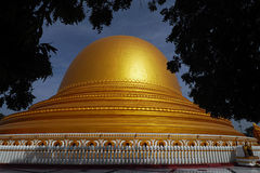 Pagoda. Is a religious building stock image