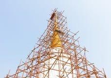 Pagoda  renovation Royalty Free Stock Photography