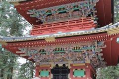 Pagoda at Rinnoji Temple/Nikko Stock Photos