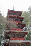 Pagoda at Rinnoji Temple/Nikko. The Pagoda at Rinnoji Temple/Nikko Royalty Free Stock Image