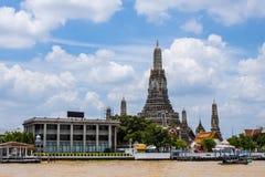Pagoda at river Royalty Free Stock Images