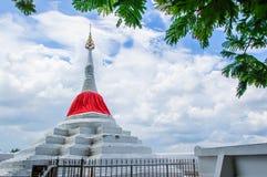 Pagoda Riverside. Pagoda  at Wat Paramaiyikawat in Koh Kred ,Nonthaburi Thailand Royalty Free Stock Image