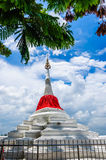 Pagoda Riverside. At Wat Paramaiyikawat in Koh Kred ,Nonthaburi Thailand Stock Images