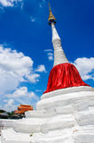 Pagoda Riverside. At Wat Paramaiyikawat in Koh Kred ,Nonthaburi Thailand Royalty Free Stock Photos