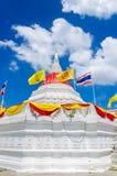 Pagoda Riverside. Pagoda  at Wat Paramaiyikawat in Koh Kred ,Nonthaburi Thailand Stock Photography
