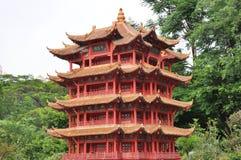 Pagoda roja Imagenes de archivo