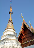 Pagoda and roof thai Stock Image