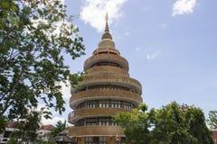 Pagoda rotonda della costruzione fotografia stock