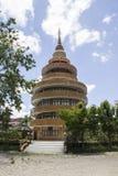 Pagoda rotonda della costruzione fotografie stock