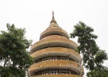 Pagoda rotonda della costruzione fotografie stock libere da diritti