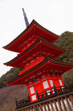 Pagoda rouge Photo libre de droits