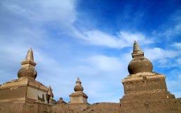 Pagoda ruin Stock Image