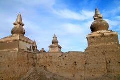 Pagoda ruin Royalty Free Stock Images