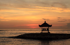 Pagoda at Sanur Bali Royalty Free Stock Photo