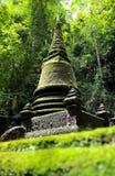 Pagoda. Saudi National park waterfall flowing at chantaburi thailand Royalty Free Stock Photo