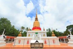 Pagoda of Sawee Stock Photos