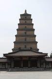 Pagoda selvagem grande do ganso em Xian fotos de stock