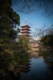 Pagoda of Senso-ji Temple Royalty Free Stock Photo